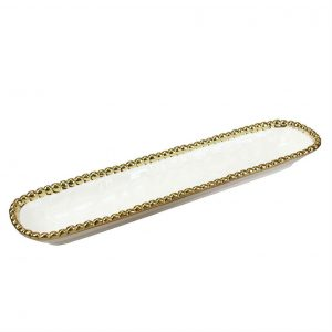 Pampa Bay Salerno Gold Cracker Tray CER-1150-WG