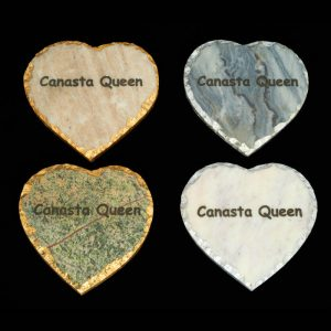 Inspired Generations Canasta Queen Coasters
