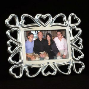 Inspired Generations Heart to Heart Photo Frame