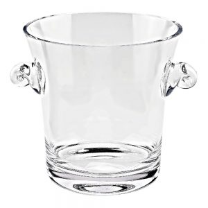 Badash Crystal Chelsea Mouth Blown European Wine or Champagne Cooler or Ice Bucket - LH602