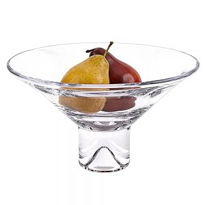 "Badash 12"" Bowl <a href=""https://lifestylesgiftware.com/product/badash-crystal-monaco-pedestal-mouth-blown-european-lead-free-crystal-centerpiece-or-fruit-bowl-12-in-with-new-scissor-cut-edges/""> with Scissor Cut Edges</a>"
