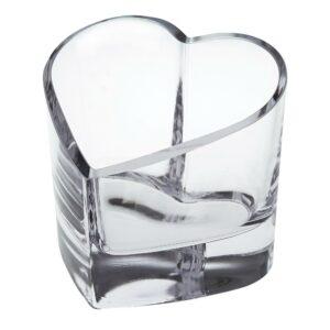Badash Crystal Romance European Mouth Blown Heart Bowl or Votive - K881