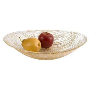 Badash Crystal Secret Treasure Gold Handcrafted Bowl 15x9 KM711G