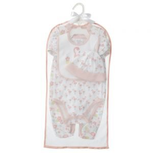CBK Inspired Home Cora Flamingo Layette Set - BG4112