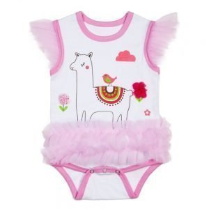 CBK Inspired Home Llama Diaper Shirt Tutu - ER50557
