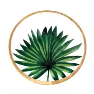 CBK Inspired Home Palm Leaf Lazy Susan - 159767