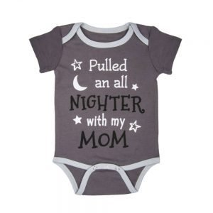 CBK Inspired Home Pulled an all nighter Diaper Shirt - ER53855