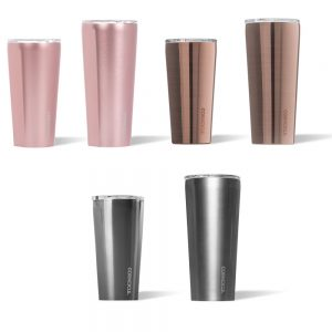Corkcicle Metallic Tumbler