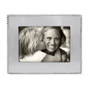 Mariposa Beaded 5x7 Engravable Frame