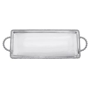 Mariposa Beaded Long Rectangular Tray