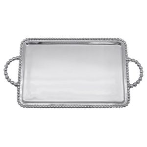 Mariposa Beaded Medium Service Tray