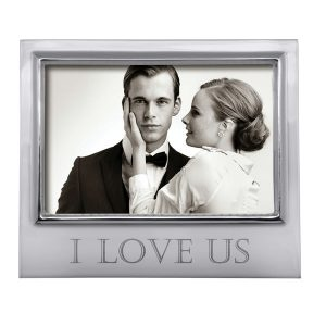 Mariposa I Love Us 4x6 Signature Frame