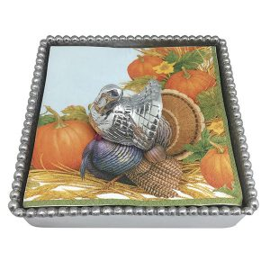 Mariposa Turkey Napkin Box