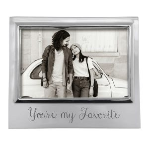 Mariposa You're My Favorite 4x6 Signature Frame