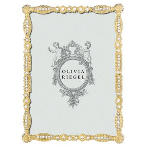 Olivia Riegel Gold Asbury 5 x 7 inch Frame - RT4642