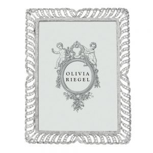 "Olivia Riegel <a href=""https://lifestylesgiftware.com/product/olivia-riegel-palmer-5-x-7-inch-frame/"">Palmer 5x7 Frame</a>"