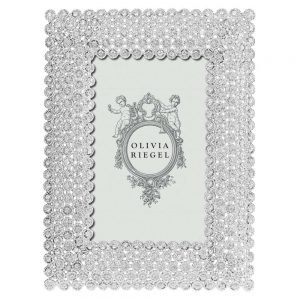 Olivia Riegel Silver Alexis 4 x 6 inch Frame - RT1340