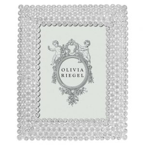 Olivia Riegel Silver Alexis 5 x 7 inch Frame - RT1341