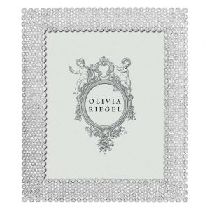 Olivia Riegel Silver Alexis 8 x 10 inch Frame - RT1342