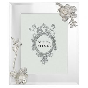 Olivia Riegel Silver Botanica 8 x 10 inch Frame - RT0183