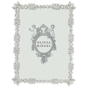 Olivia Riegel Silver Duchess 5 x 7 inch Frame - RT7502