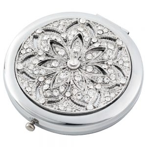 Olivia Riegel Silver Windsor Compact - CM1923