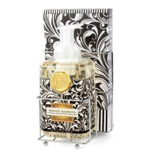 Michel Design Works Honey Almond Foaming Hand Soap Napkin Set DSP182