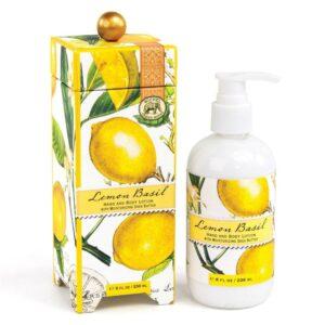 Michel Design Works Lemon Basil Lotion LOT8R