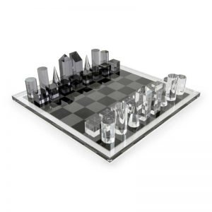 Tizo Design Acrylic Chess Set HA113CHES