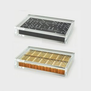 Tizo Design Acrylic Domino Set HA115DM