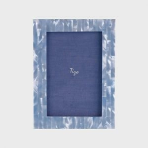 Tizo Design Blue Mother of Pearl Frame MP83BLU
