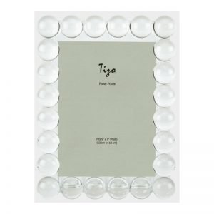 Tizo Design Crystal Glass Single Bubble Picture Frame PH1880
