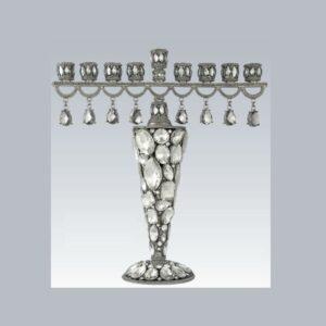 Tizo Design Crystal Menorah RS350CS