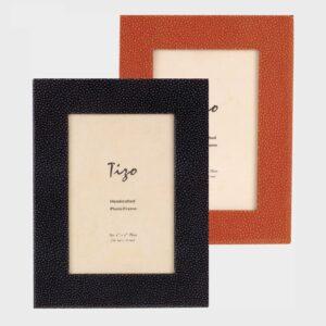 Tizo Design Orange Wood Frame with Polished Wood Back NC403OR
