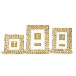 Twos Company Braid Photo Frames - 81448
