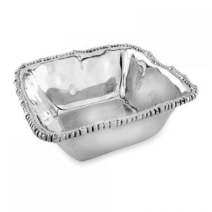 Beatriz Ball ORGANIC PEARL Nova Square Bowl - MEDIUM-6198