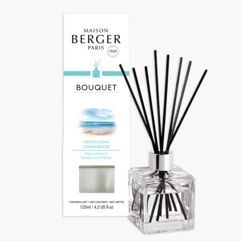 Cube Reed Diffuser with Ocean Breeze Fragrance