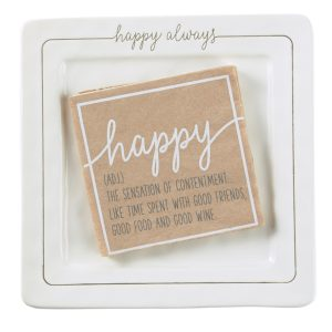 Happy Cheese Plate