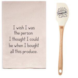 Produce Dishtowel & Spatula