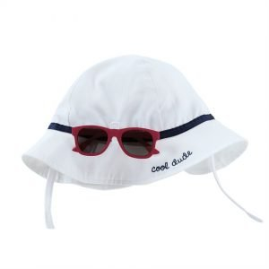 Red Sunglasses and Hat Set