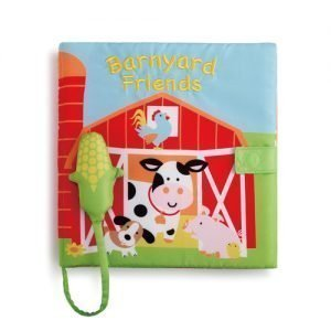 softcover book with barn animals