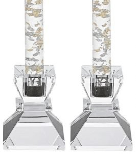 Badash Crystal Candle Holders