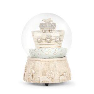 "Demdaco <a href=""https://lifestylesgiftware.com/product/demdaco-noahs-ark-musical-snow-globe/"">Noah's Ark Musical Snow Globe</a>"