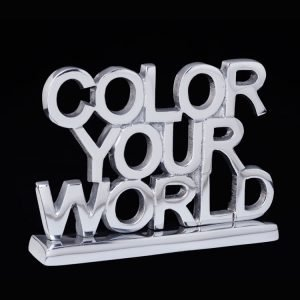 Color Your World sign