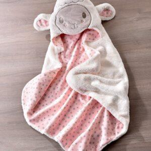 Giftcraft Lil' Lamb Hooded Bath Towel