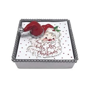 Santa Hat Napkin Box Lifestyles Giftware