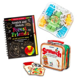Slamwich, Activity book, and Chalk