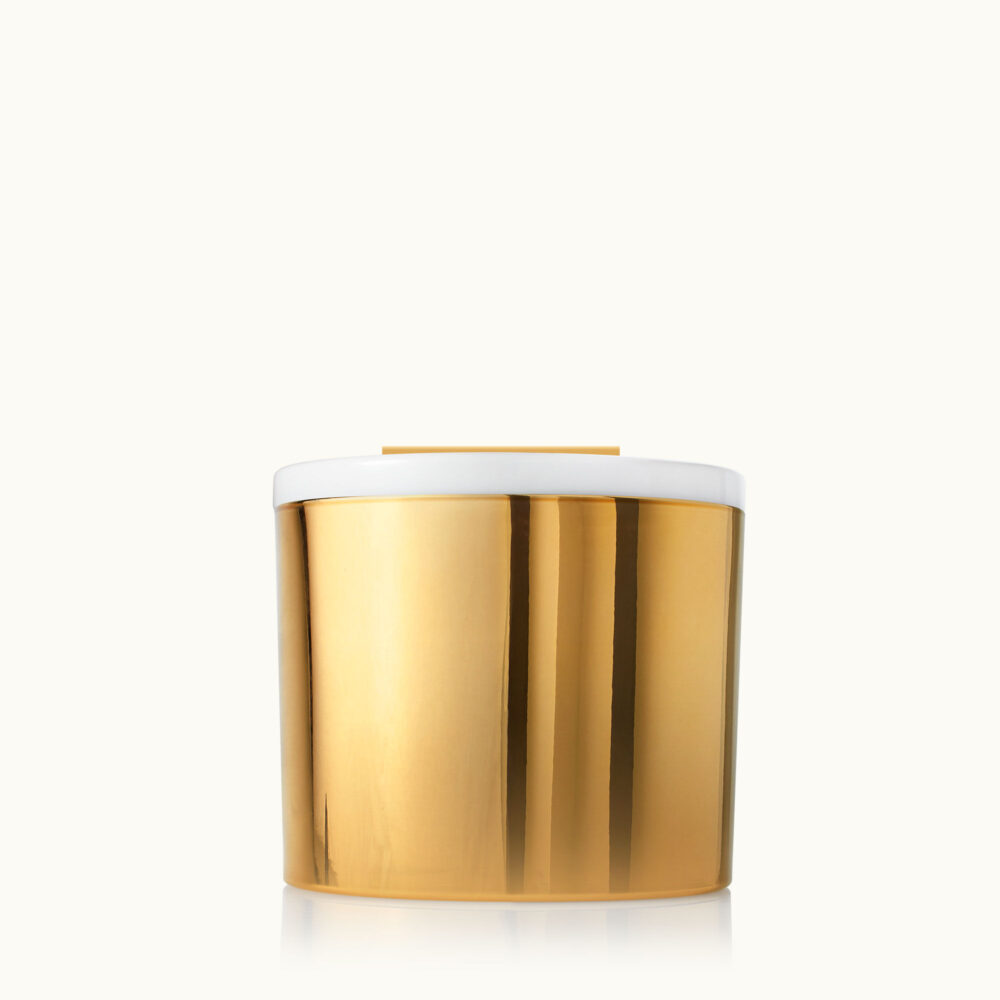 The Thymes Frasier Fir Gold 3 Wick Candle