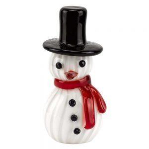 Badash Crystal Glass Snowman Lifestyles Giftware